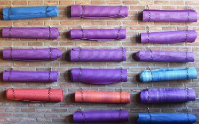 Die richtige Yoga-Matte finden