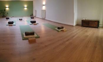 Renovierung des Yogastudios